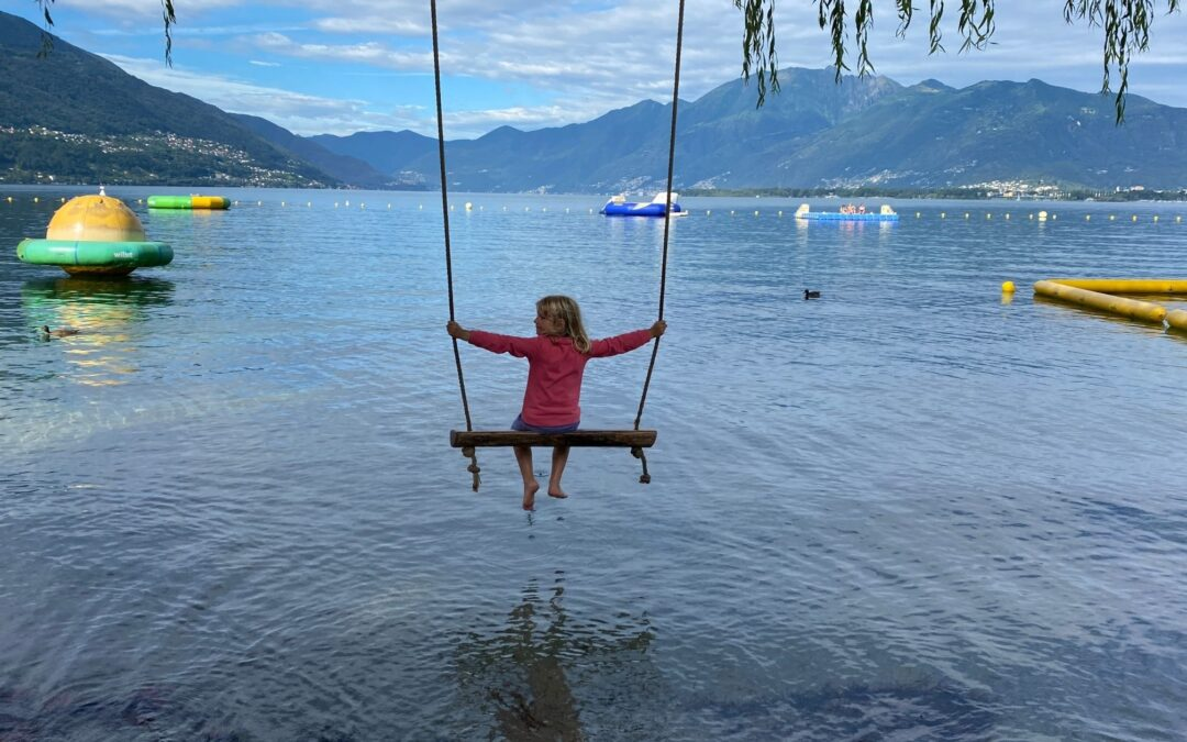 Monatsrückblick Juli 2021: Sommerferien im Tessin und zu Hause